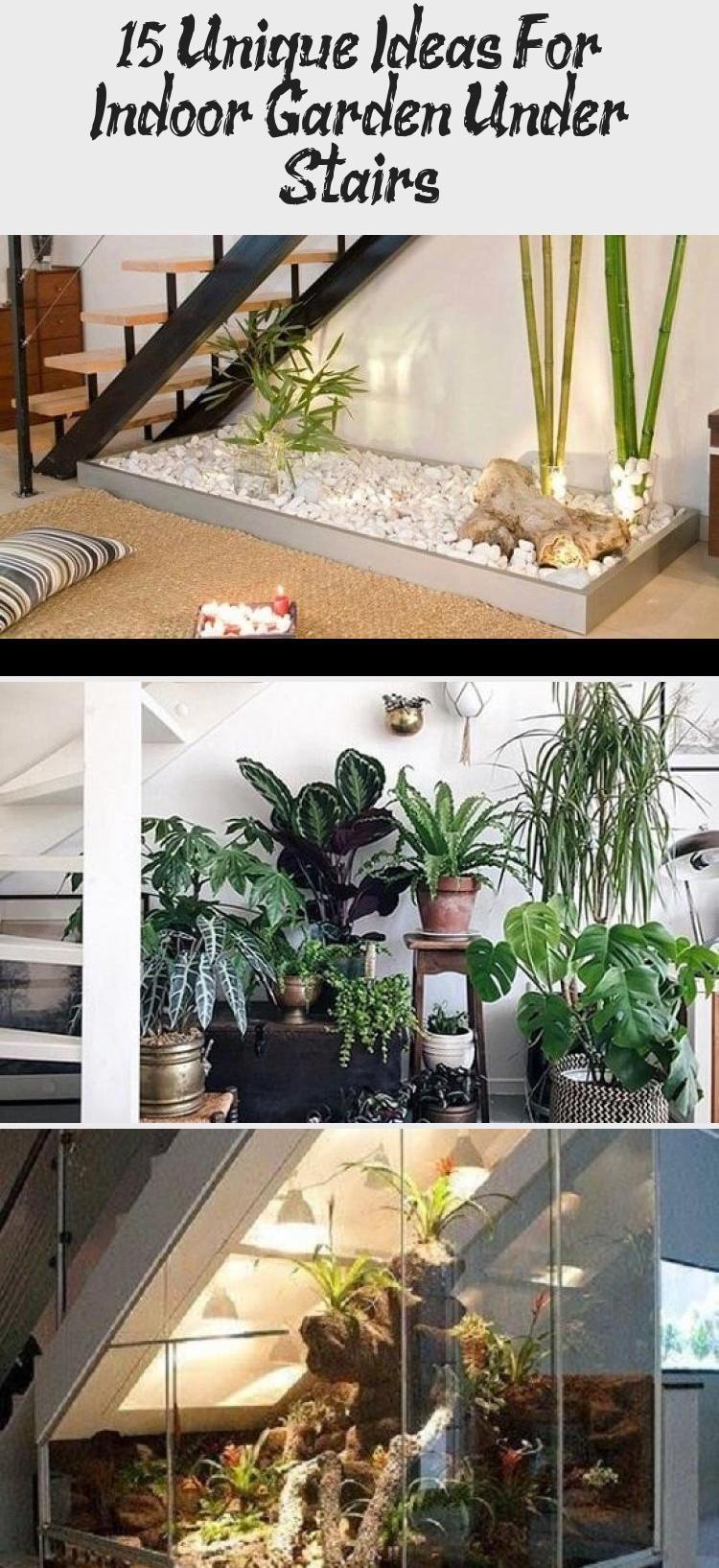 15 Unique Ideas For Indoor Garden Under Stairs Balcony Garden Web Verticalindoorgarden Indoorgardenrooms Ind In 2020 Indoor Gardens Dog Under Stairs Indoor Garden