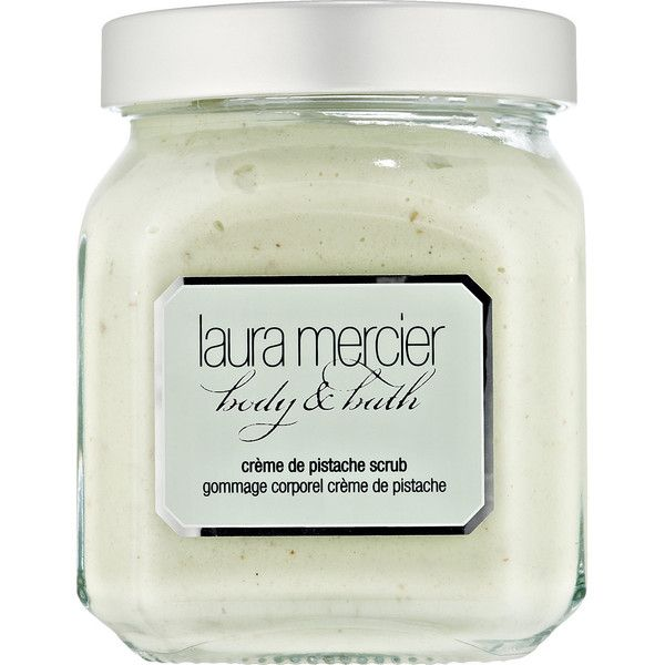 Laura Mercier Crème de Pistache Scrub (155 BRL) ❤ liked on Polyvore featuring beauty products, bath & body products, body cleansers, fillers, beauty, makeup, other, cosmetics and laura mercier