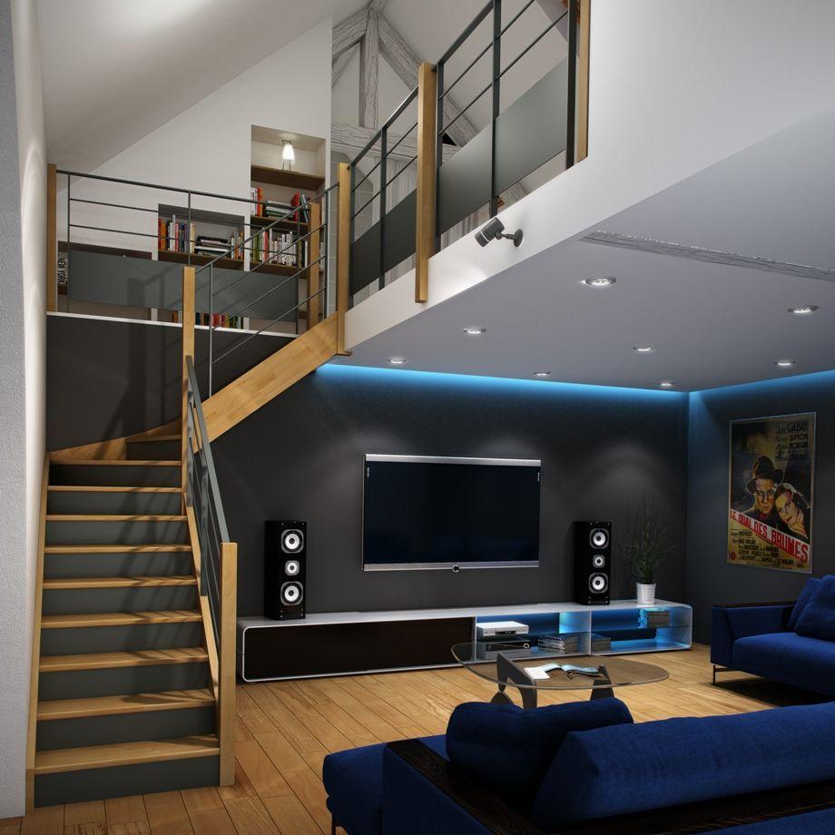 Escaliers OPHELIA, de la marque Davy. Très moderne, cet escalier ...