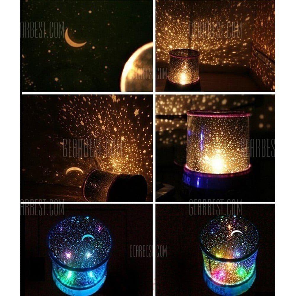 Sky Star Master Night Light Projector Led Lamp Fun Master Children