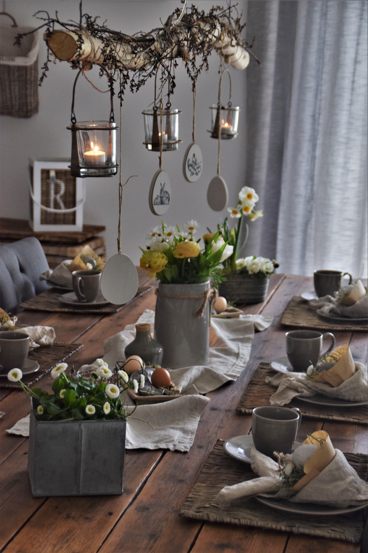 Osternester aus Filtertüten für die Ostertafel - Elas Dekoideen #thanksgivingdecorations