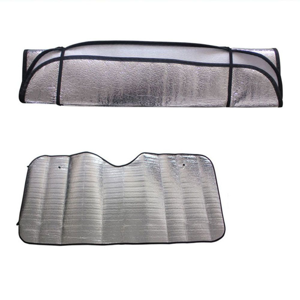 Car window coverings  pc casual foldable car windshield visor cover front rear block