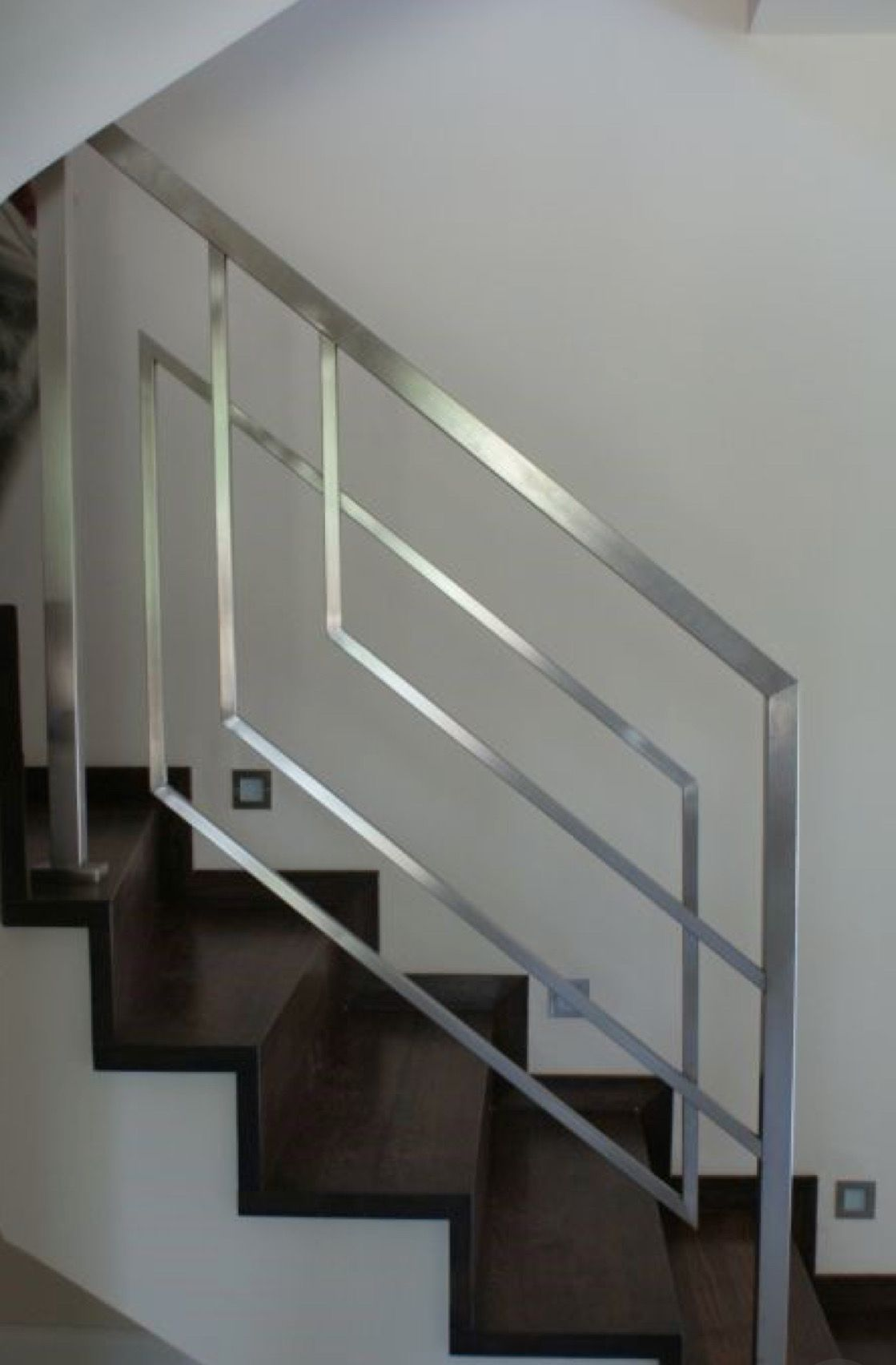 Pin By U Nyi Nyi On House Stairs Stair Railing Design Steel Railing Design Stairs Design Interior