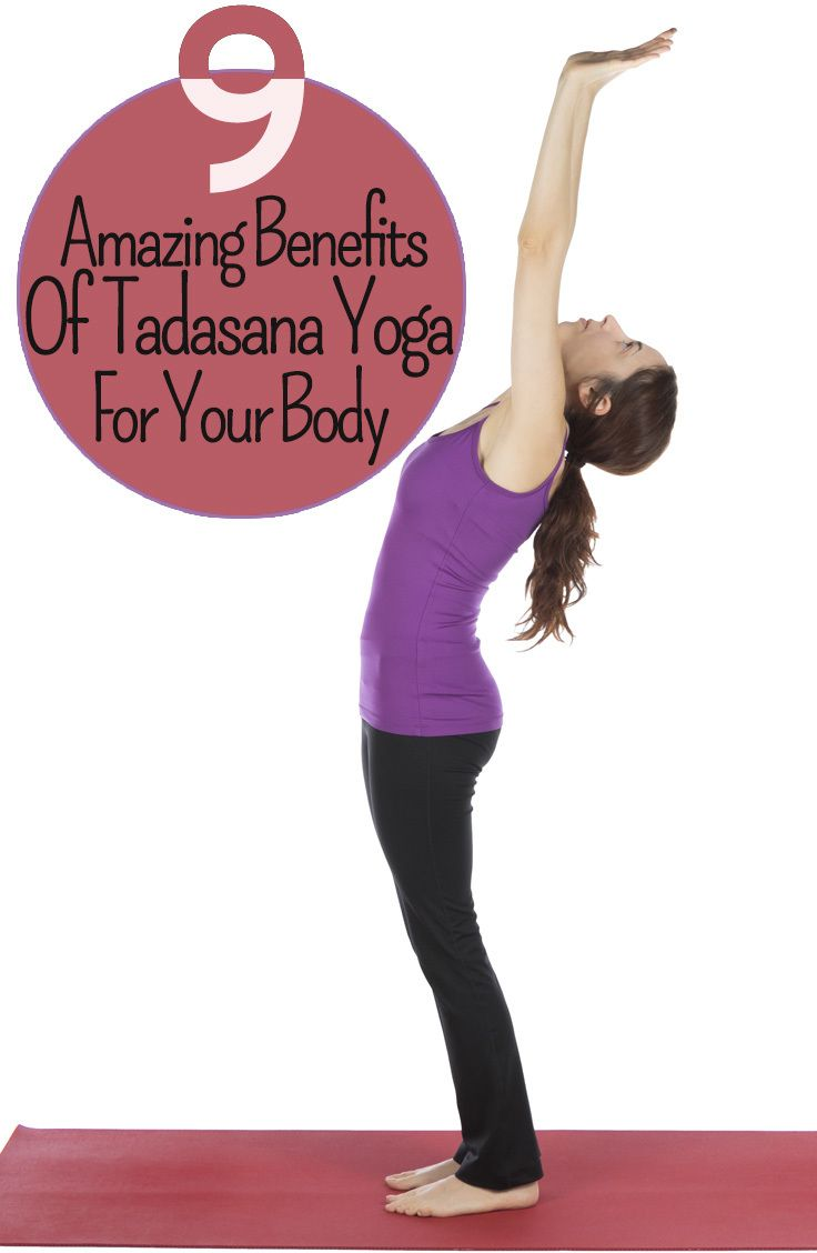 How To Do The Tadasana And What Are Its Benefits  Yoga poses Yoga