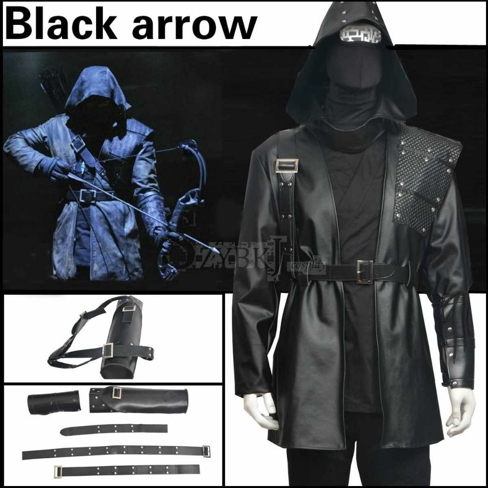 The Green Arrow suit adult costume the Black Arrow Malcolm Merlyn arrow halloween cosplay hoodies  sc 1 st  Pinterest & Vihreä Nuoli puku on aikuisten puku Musta Nuoli Malcolm Merlyn nuoli ...