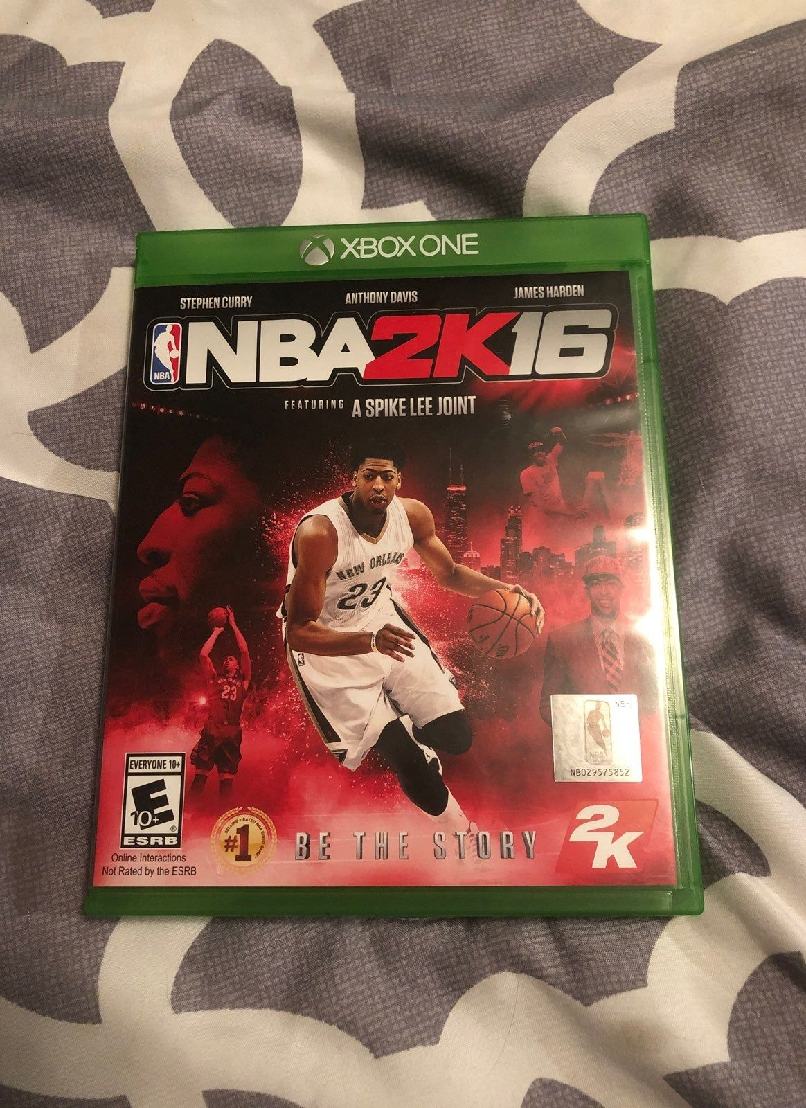 Nba 2k16 For Xbox One No Scratches On Disc Includes 3 Cards