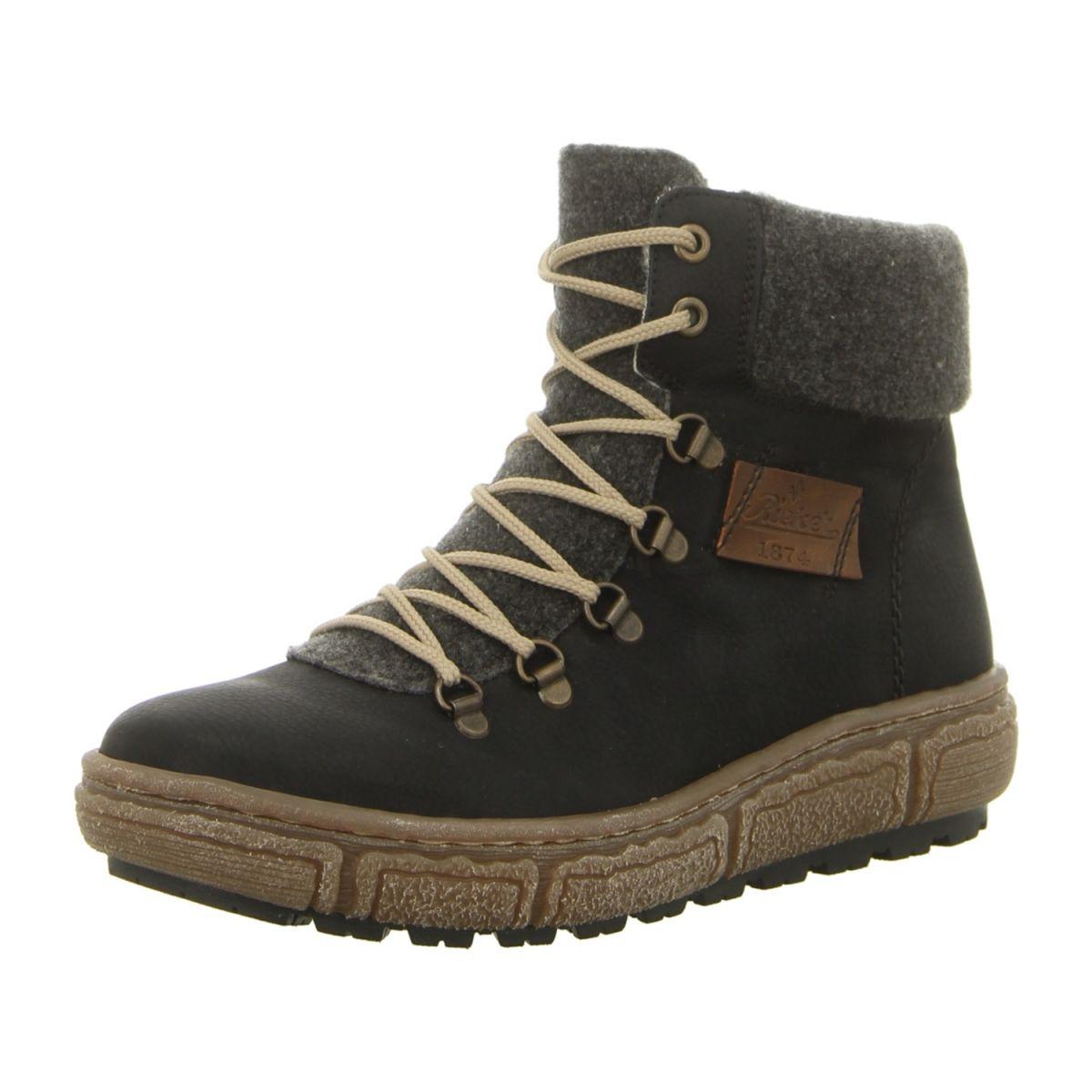 NEU  Rieker Stiefeletten Z7943-00 - schwarz kombi -   Schuhe ... 6b23255451