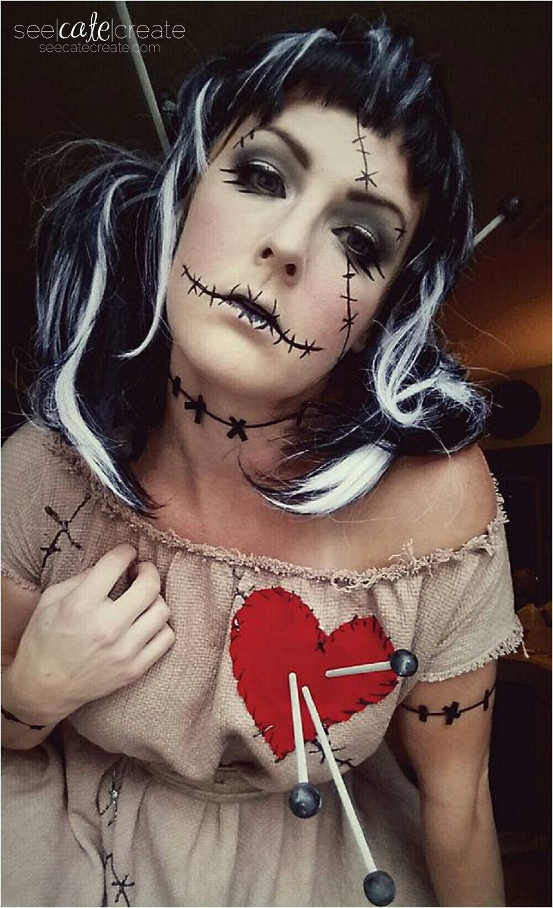 voodoo doll costume | halloween ideas | pinterest | halloween