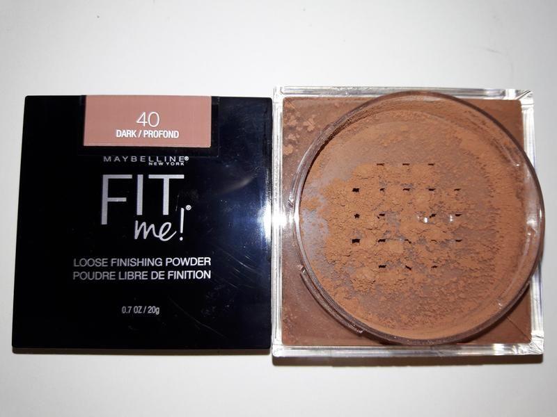 Fit me loose finishing powder in 40 dark finishing