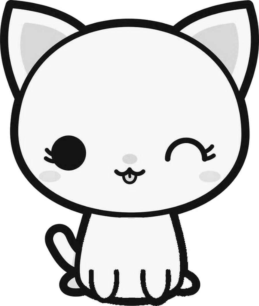 Dibujos De Kawaii Para Colorear Imprimir Caracteres Inusuales Em