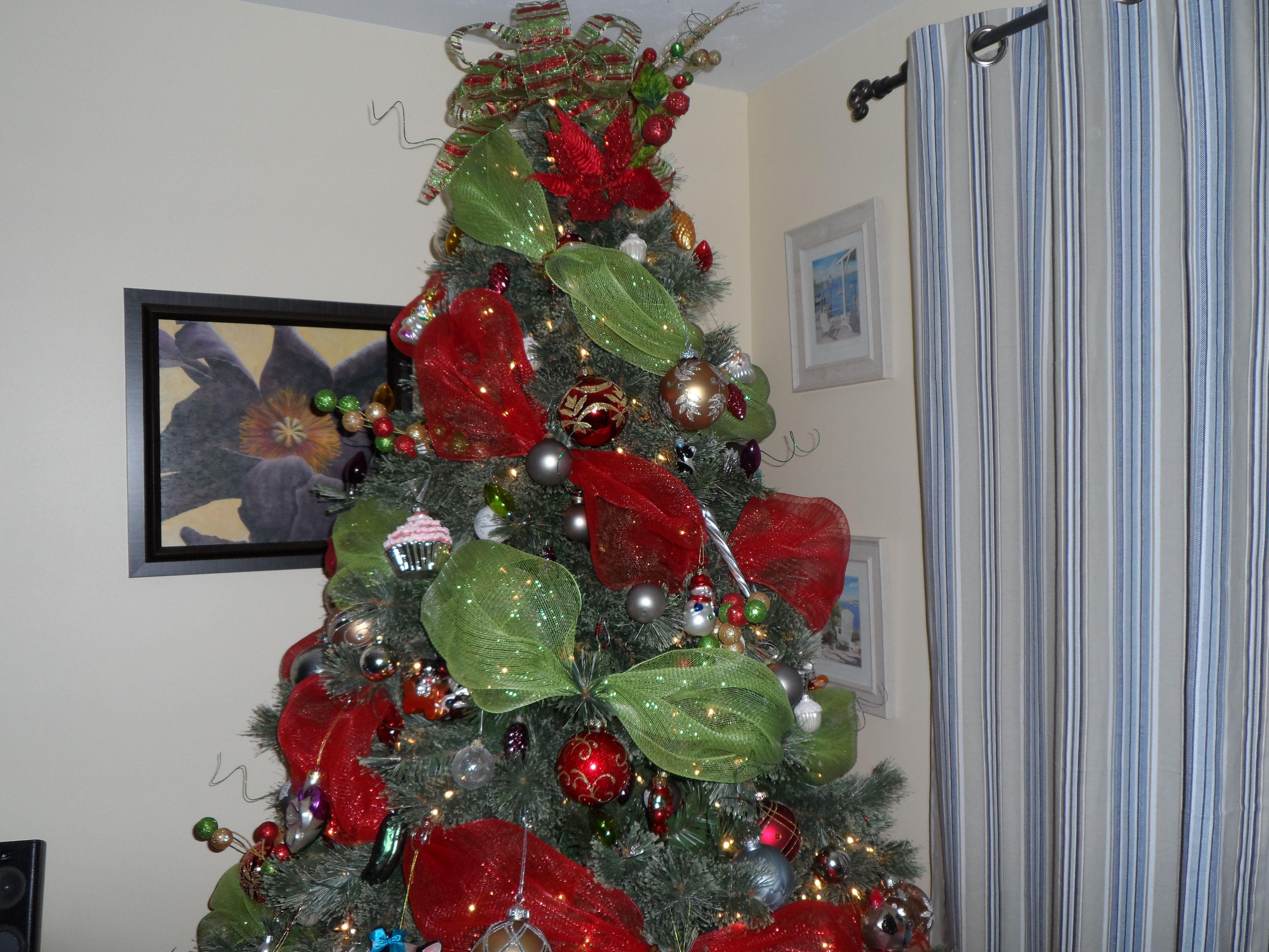 My Deco Mesh Tree