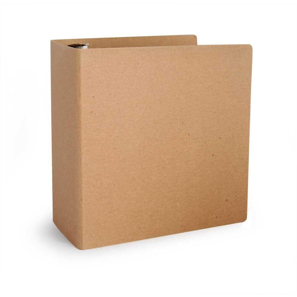 "Foil Stamped 3"" ReBinder Select Recycled Binders"
