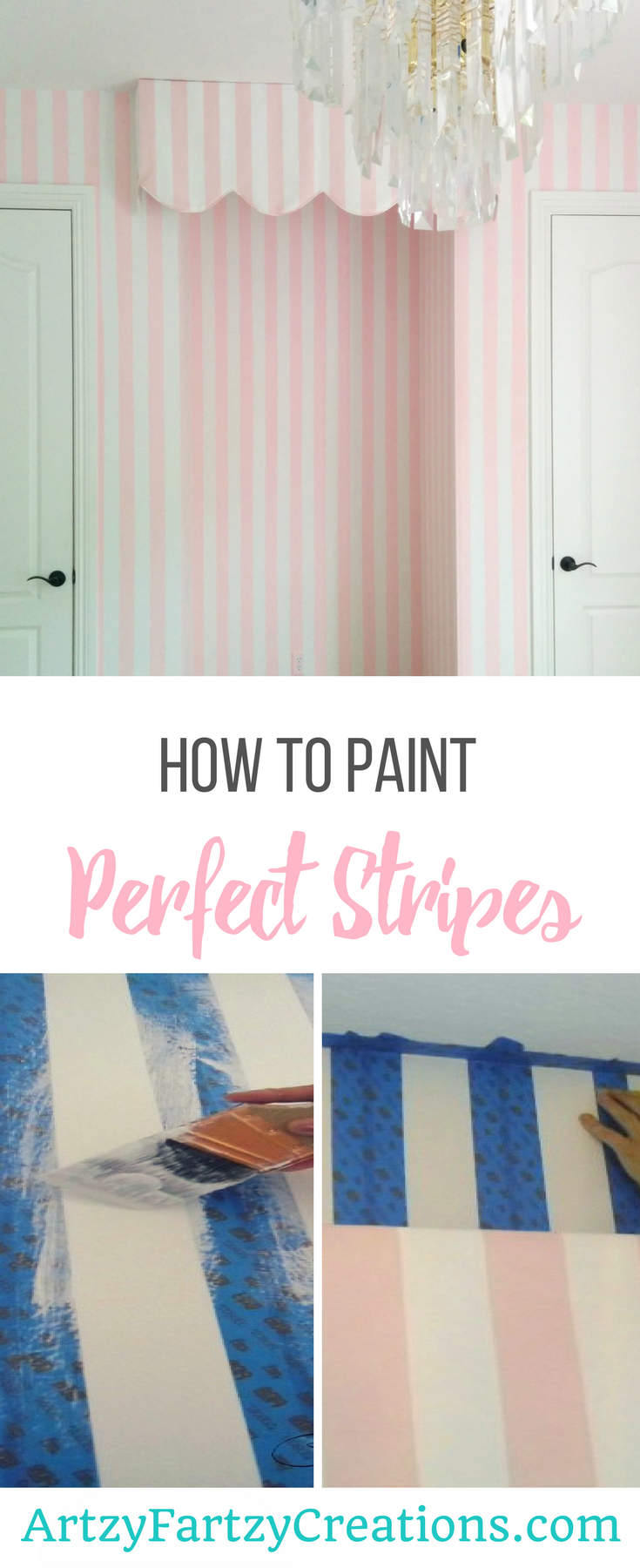 How to Paint Perfect Stripes Six