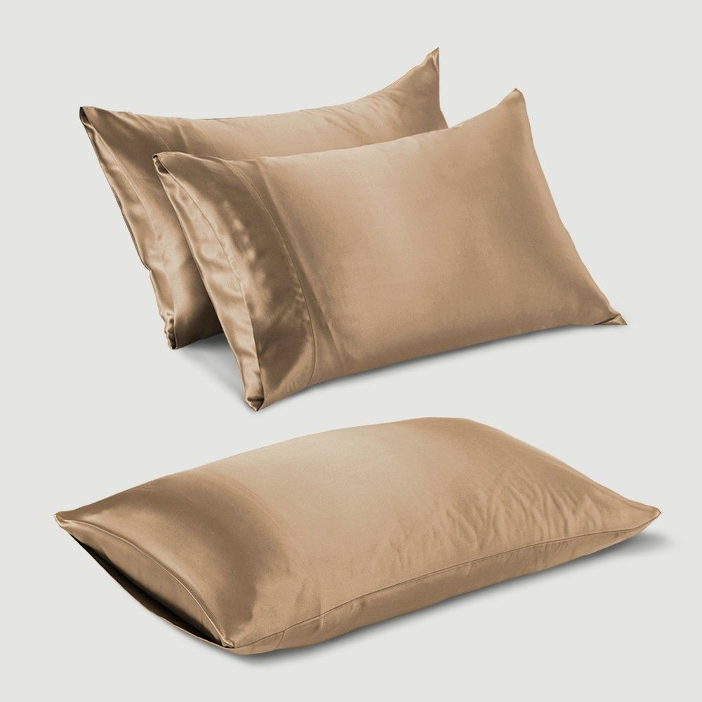 Best Silk Pillowcase For Skin Unique Cappuccino Housewife Silk Pillowcase  Cappuccinos Housewife And Hair Decorating Inspiration