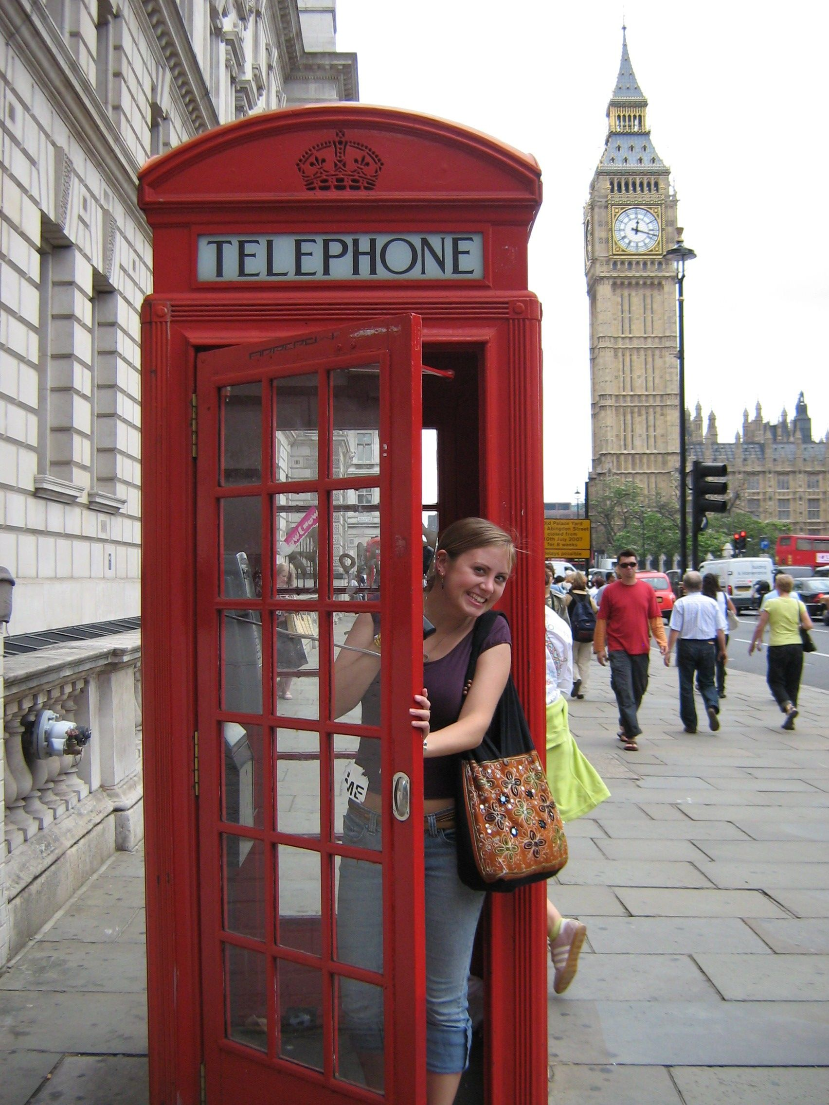 Hokies Abroad Winner Hokie Hi Kristina Ticknor Photo Contest Photo Big Ben