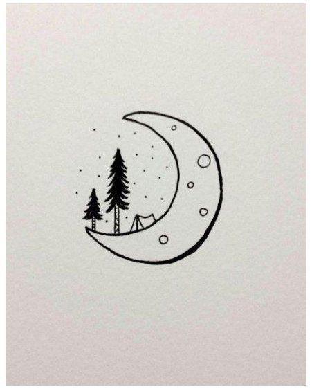 cute easy drawings doodles sketches simple