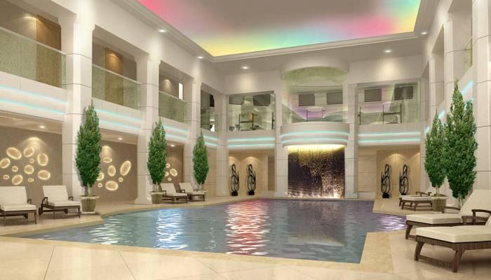 Indoor Pool Palais Hansen Kempinski, Vienna. Like?
