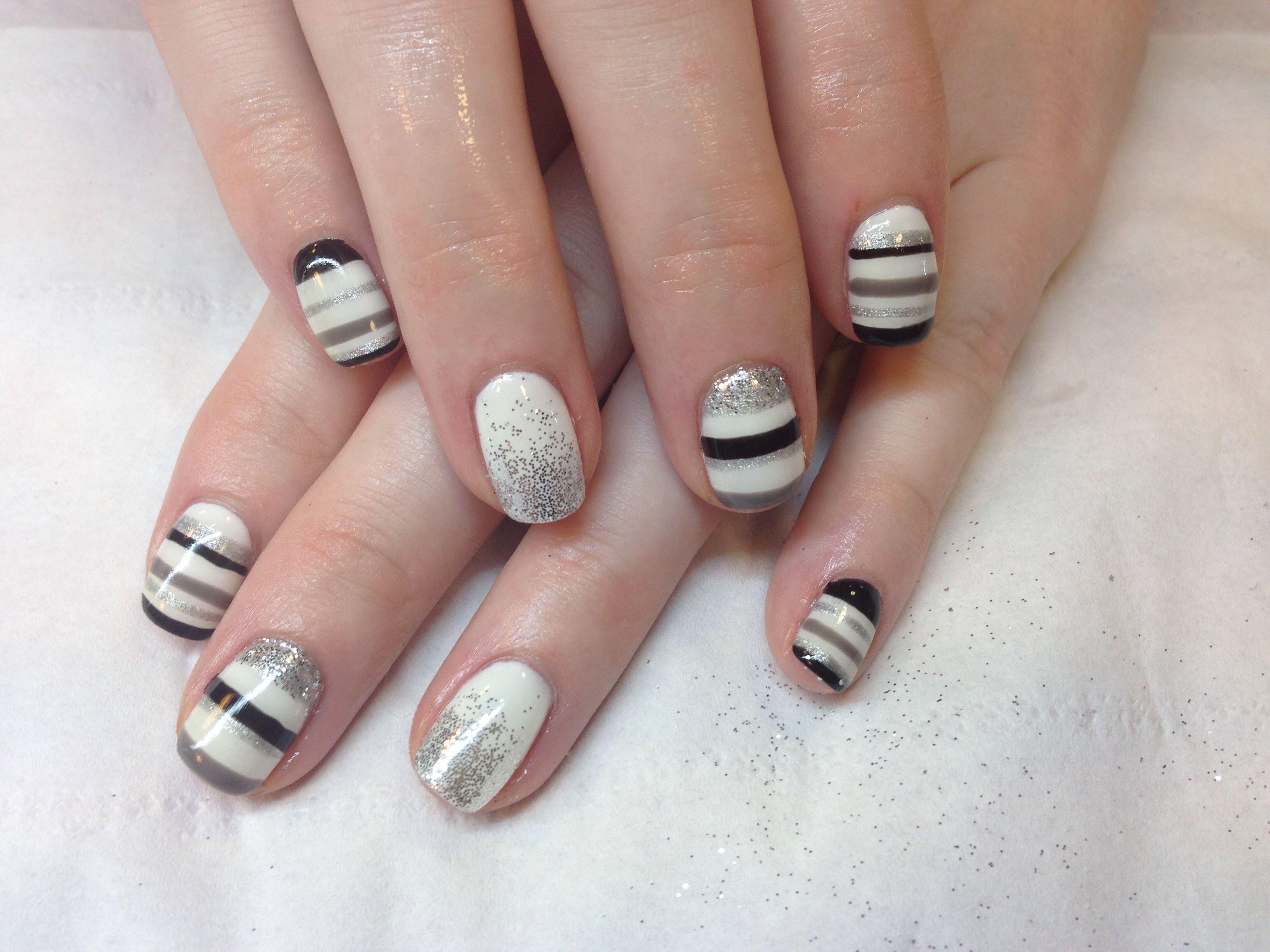 Gel polish design nails salon nails pinterest gel polish