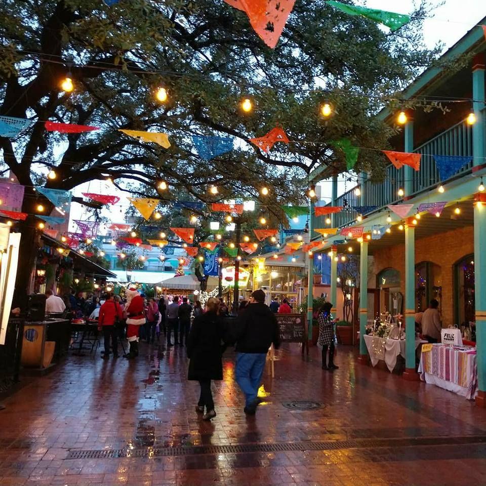 Historic market square river walk restaurants san