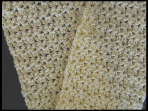 Howto Crochet Scarf Free Pattern Diy Ganchillo Bufanda Tutorial Easy