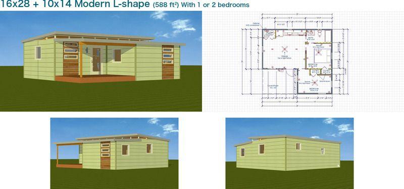 Kanga Modern Cabins Backyard OfficeGuest HousePool HouseArt