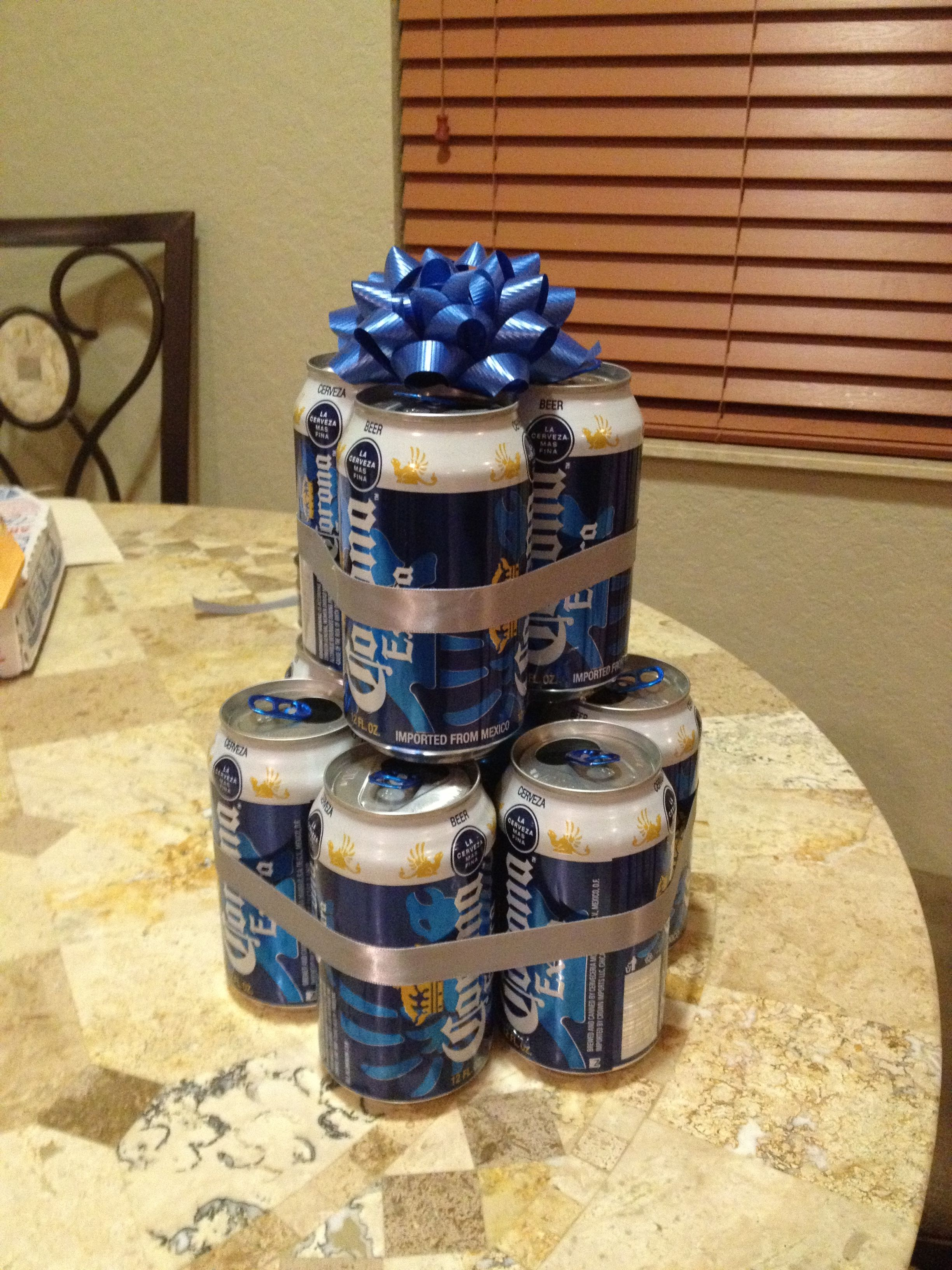 Beer Can Centerpiece In 2019 Centerpieces Cooking