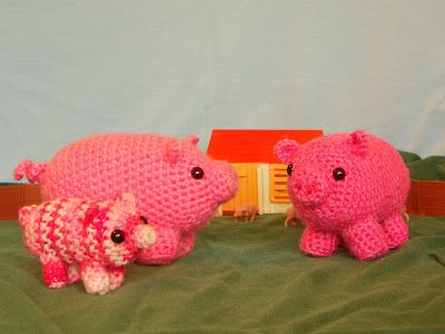 one man crochet: free crochet pig pattern | amigurumi | Pinterest ...