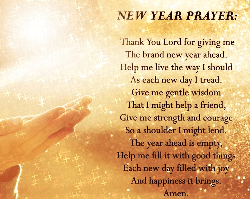 Happy New Year Prayer 2019 (With images) New years