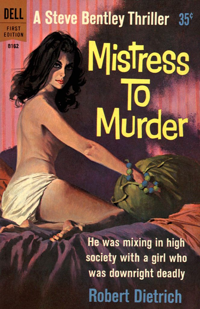 Image result for the price of murder pulp cover
