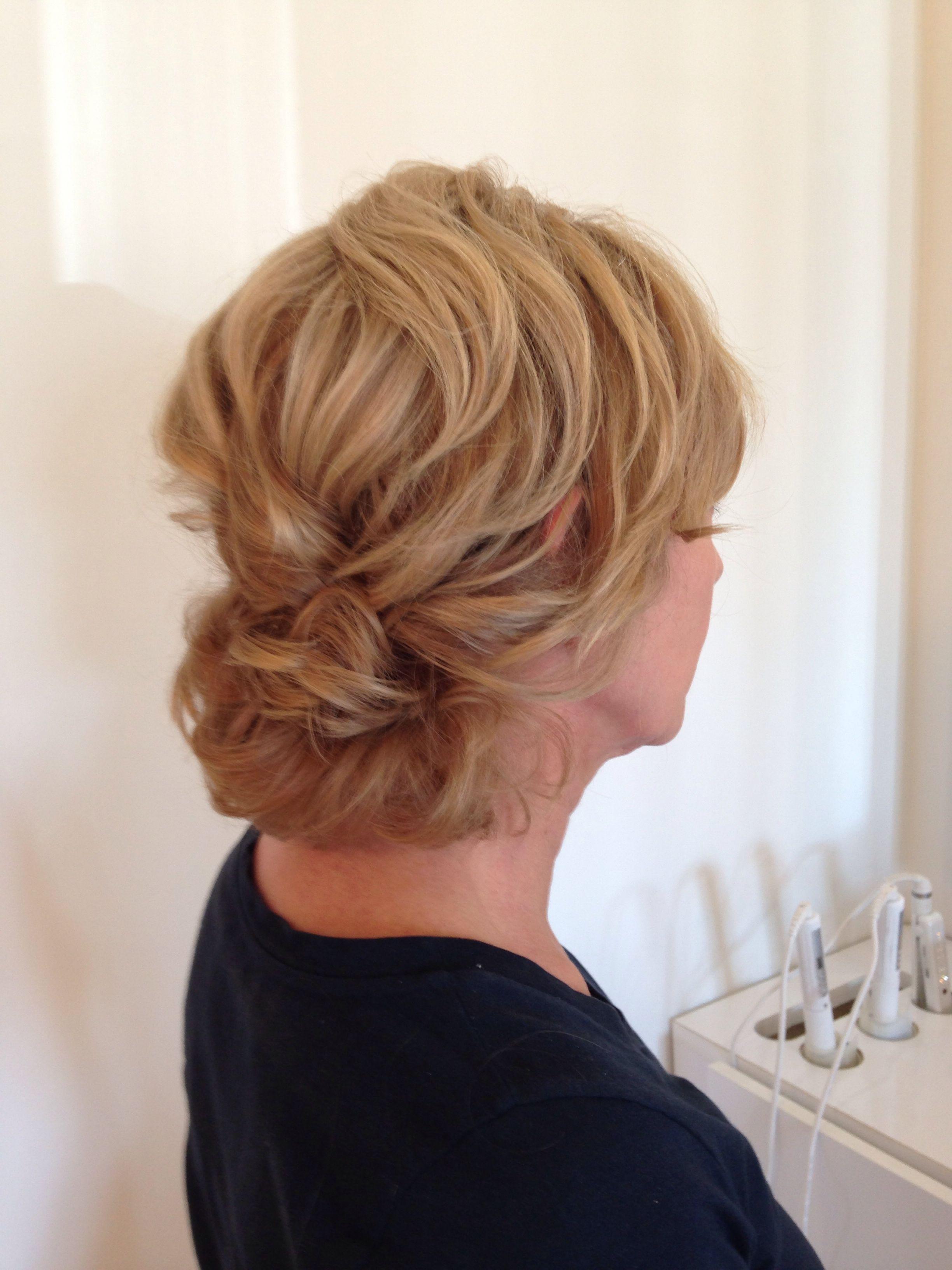mother of bride - medium to short hair | wedding hairstyles