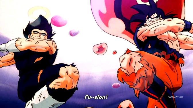 Vegeta And Goku Fusion Dance Dragon Ball Z Dragon Ball Dragon Ball Super
