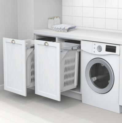 Laundry Room Makeover Stackable