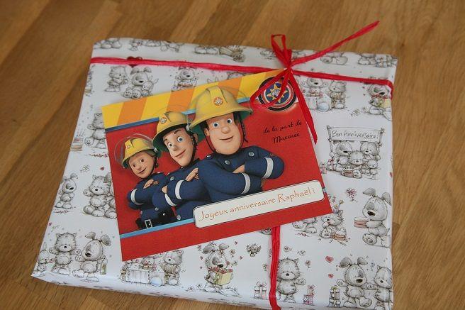 Une carte d anniversaire sam le pompier birthday card fireman sam