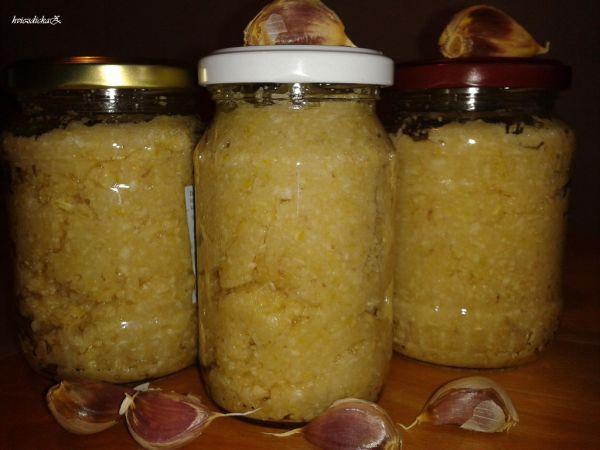 Fotorecept: Cesnaková pasta - Recept pre každého kuchára, množstvo receptov pre pečenie a varenie. Recepty pre chutný život. Slovenské…