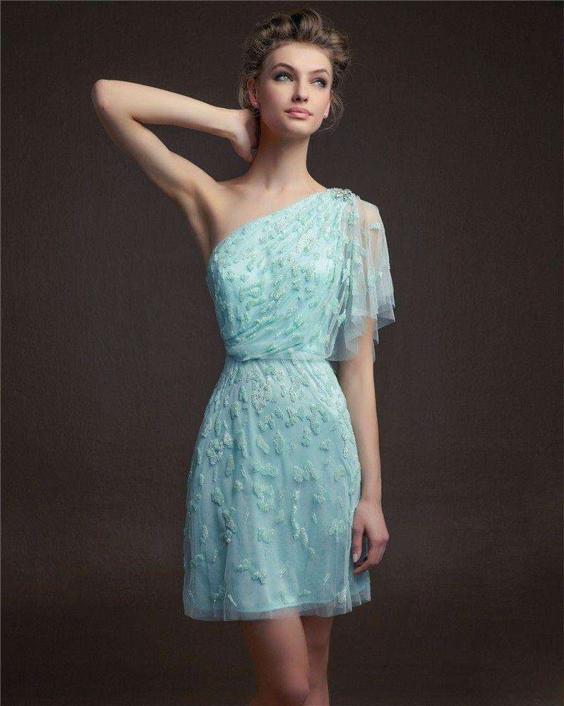 Vestido corto para bodas de Aire | vestidos | Pinterest | Vestido ...