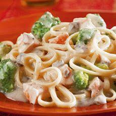 Chicken and Broccoli Alfredo II Recipe