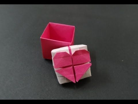 How to make an easy Origami heart box & Envelope paper/heart box ... | 360x480