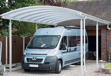 Premium freestanding curved canopy canopies uk nick gray