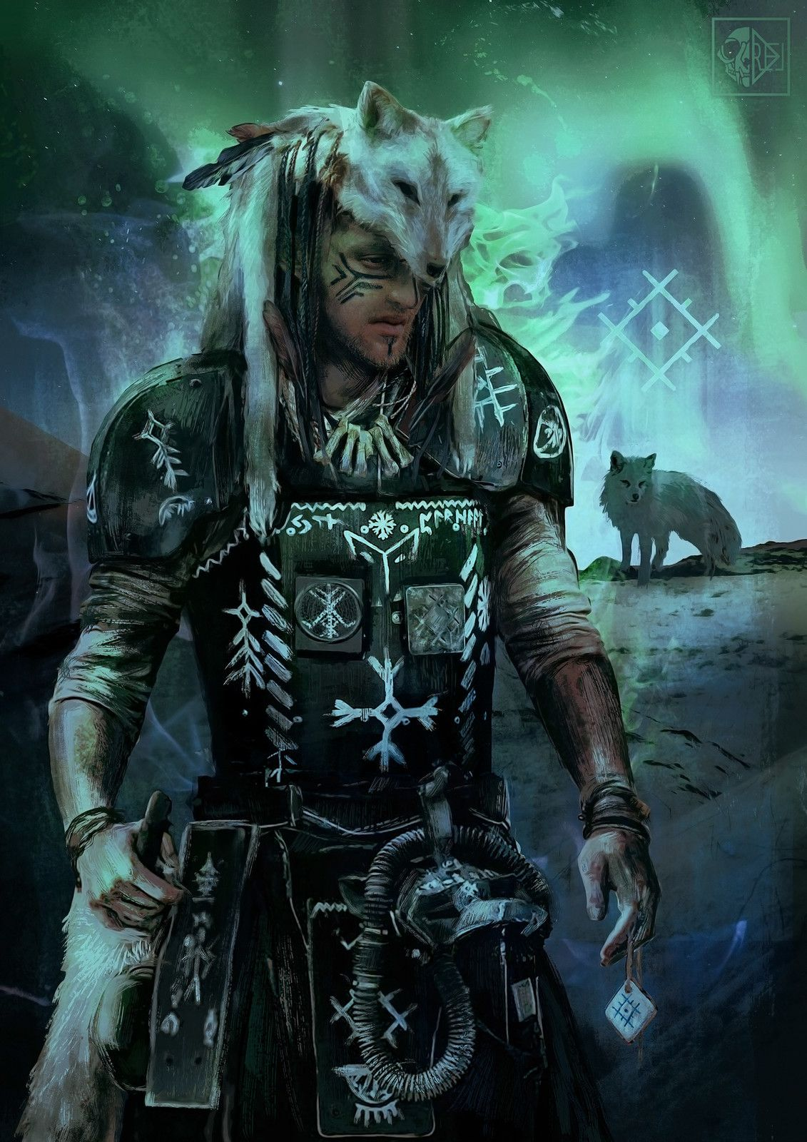 Arctic Fox, Reliah A. on ArtStation at https//www