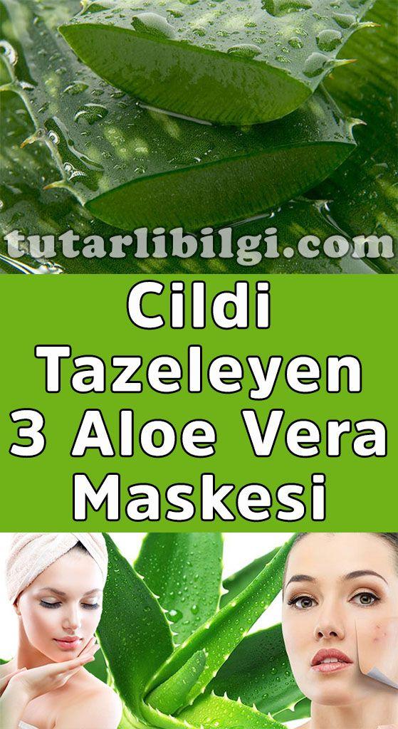 Hazırlanışı Çok Kolay 3 Aloe Vera Maskesi #ciltbakımı