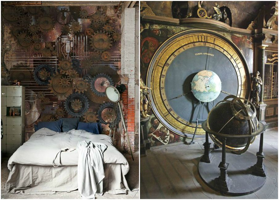 steampunk bedroom steampunk pinterest steampunk bedrooms and interiors