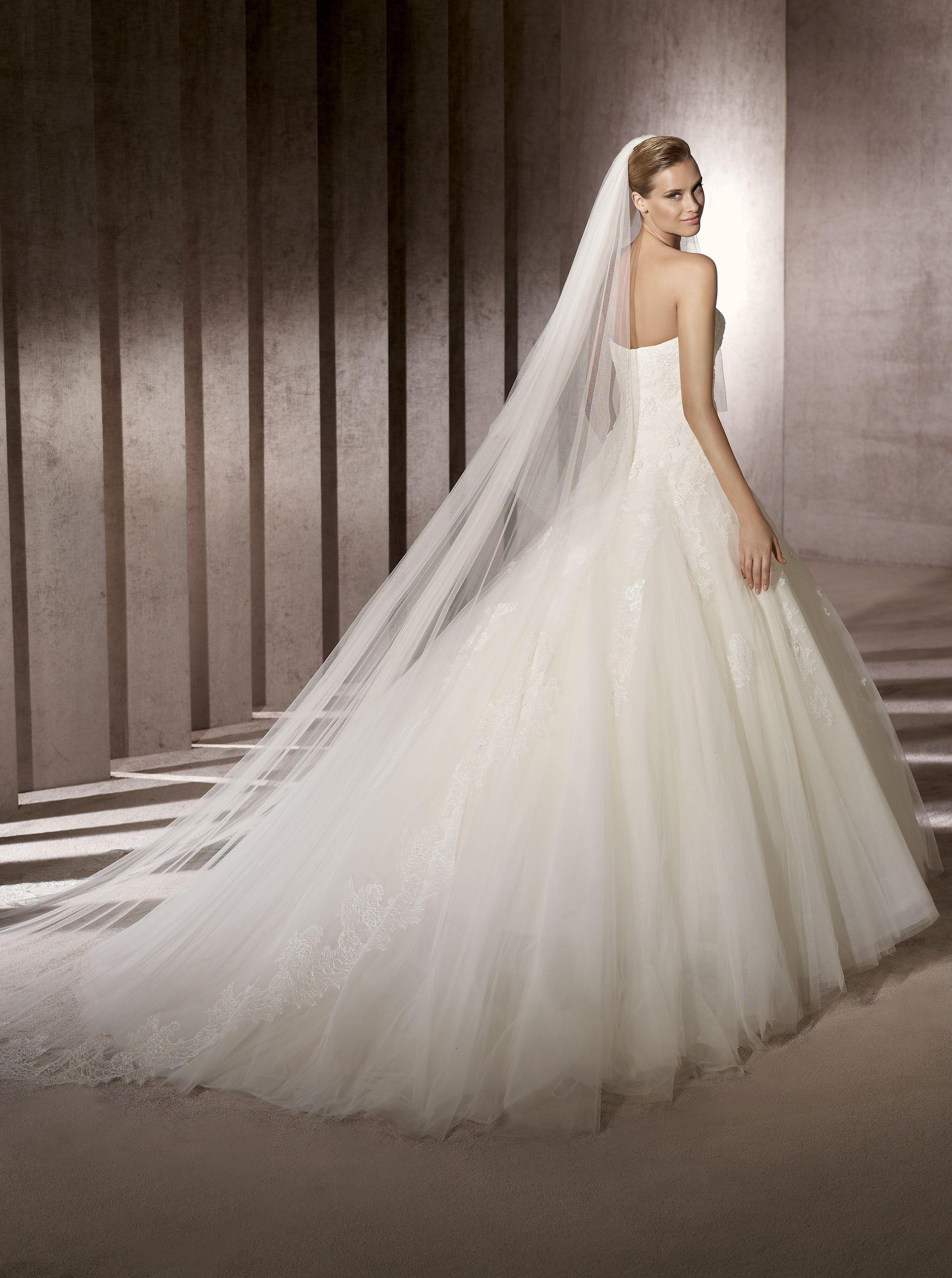 Pronovias Barroco Art12258 Aline Wedding DressesElegant