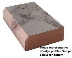 Calcutta Marble Textured Gloss Bevel Edge Laminate Trim Wilsonart Laminate Countertops Laminate Trim Countertops