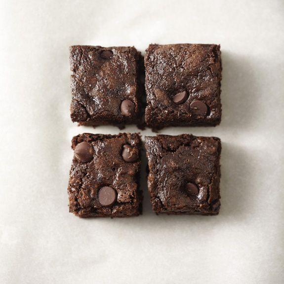 whole-wheat chocolate zucchini brownies