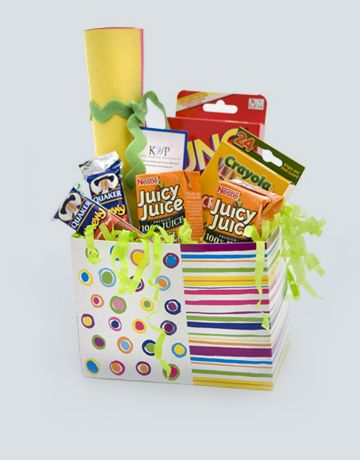 Kids Welcome Basket. Great way to make your guests that are ...