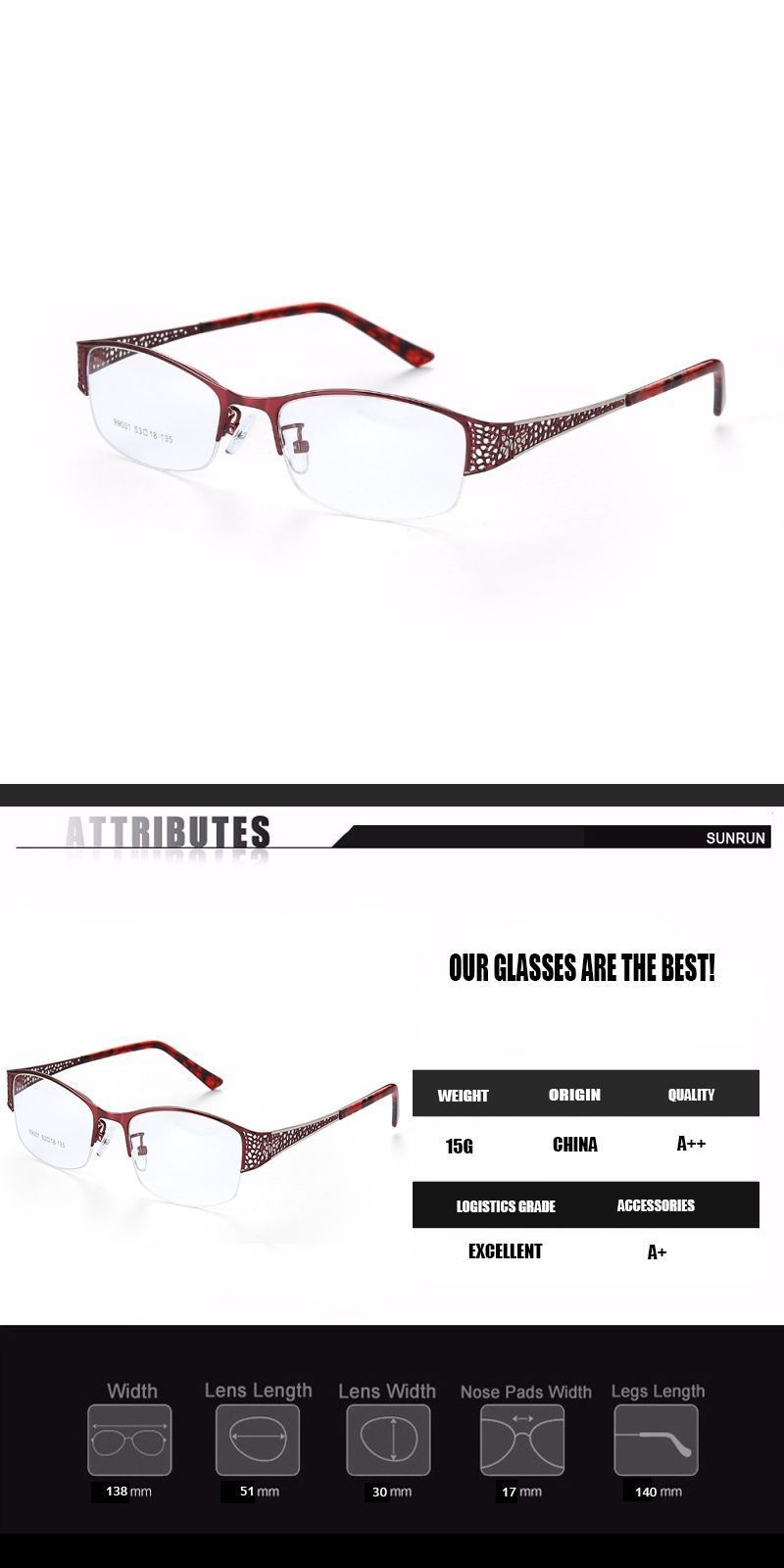 79af7aaded3 Eyeglasses frame women computer optical clear glasses myopia prescription  spectacle for women s transparent lens female rs043  eyewear  accessories   frames ...