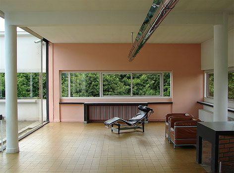 villa savoye le corbusier 1931 architecture pinterest farben. Black Bedroom Furniture Sets. Home Design Ideas