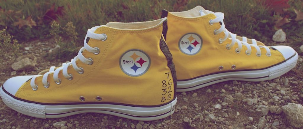 9ee92d43731 shoes for pittsburgh steelers