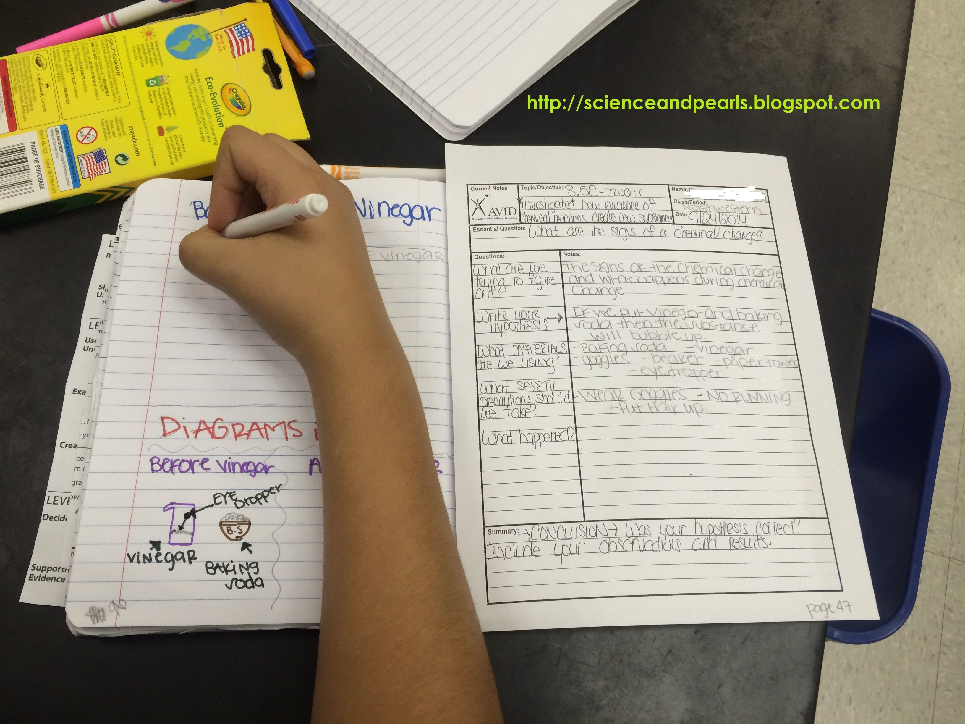 We Are Already In The 50 S For Our Interactive Notebook