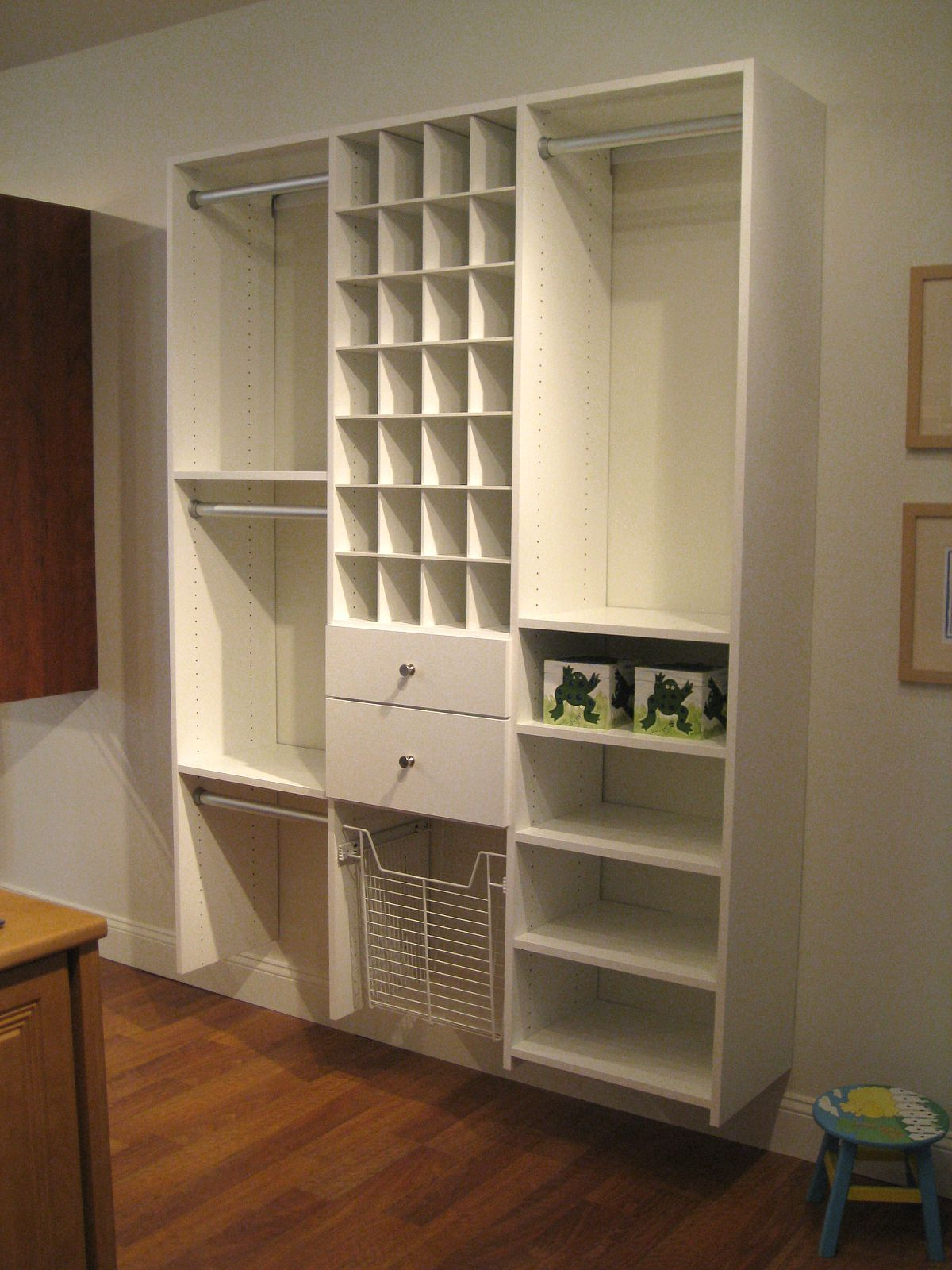 Child Closet California Closets DFW Custom closet